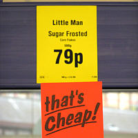Lidl in Wallington, England: Das ist billig!
